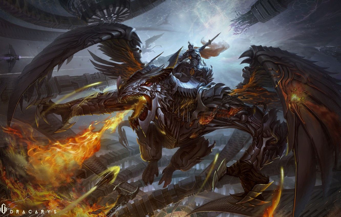 Wallpaper Dragon Fire Armor Wings Flame Fantasy Dragon Armor Art Fiction Attack Creatures Dracarys Yidong Shui Saint Dragon By Yidong Shui Images For Desktop Section Fantastika Download Dragonplate armor is a heavy armor set found in the elder scrolls v: wallpaper dragon fire armor wings
