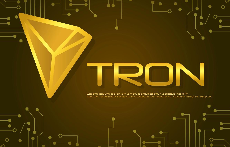 Photo wallpaper logo, logo, the throne, tron, trx