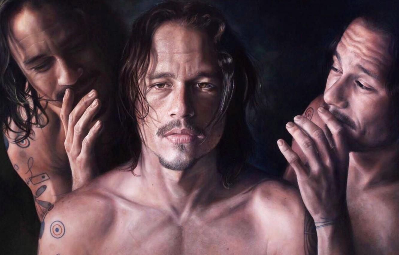 Photo wallpaper Picture, Heath Ledger, Heath Ledger, Picture
