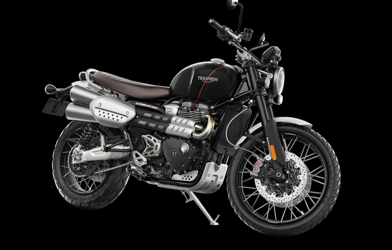 Photo wallpaper triumph, Scrambler, 1200 XC