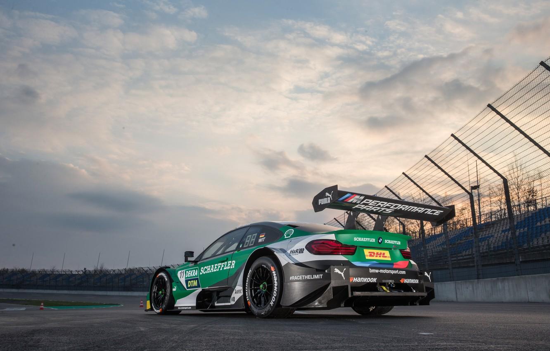 Photo wallpaper BMW, DTM, 2019, Silhouette prototype, BMW M4 DTM (F82), Antichri