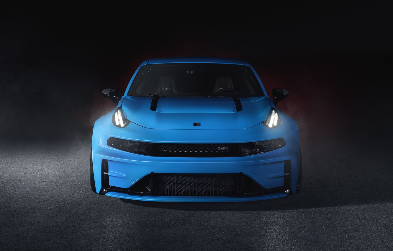 Photo wallpaper Concept, front view, 2019, LYNK&CO, Lynk & Co, 03 Cyan