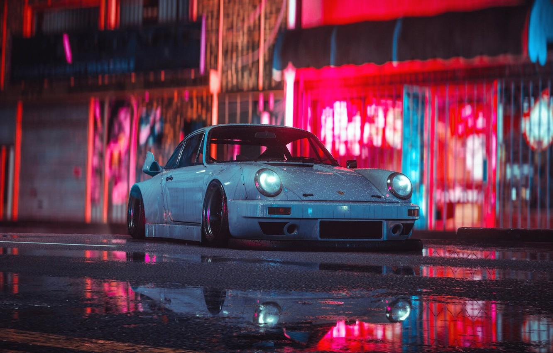 Wallpaper Auto White Machine Style Car Nfs Art Porsche 911
