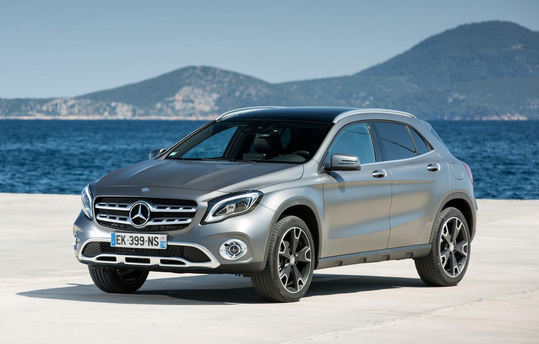 Photo wallpaper Mercedes-Benz, 220, GLA, X156, Worldwide, d 4MATIC