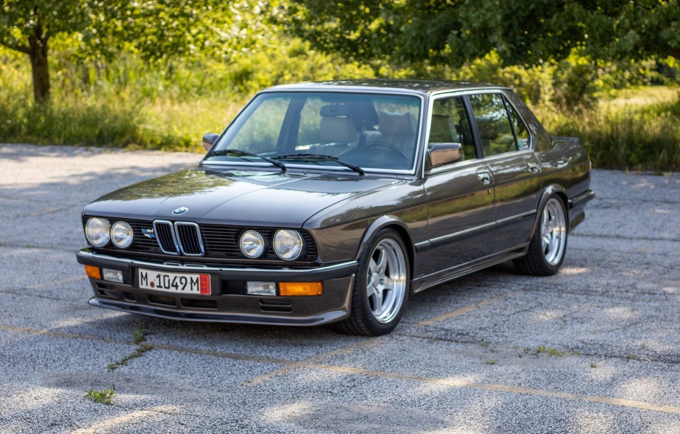 Photo wallpaper BMW, E28, 5-Series, 535I