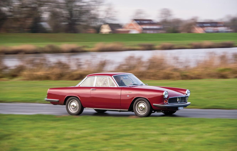 Photo wallpaper Fiat, Chrome, 1959, Classic car, Abarth, Sports car, Fiat Abarth, Fiat Abarth 2200 Coupe