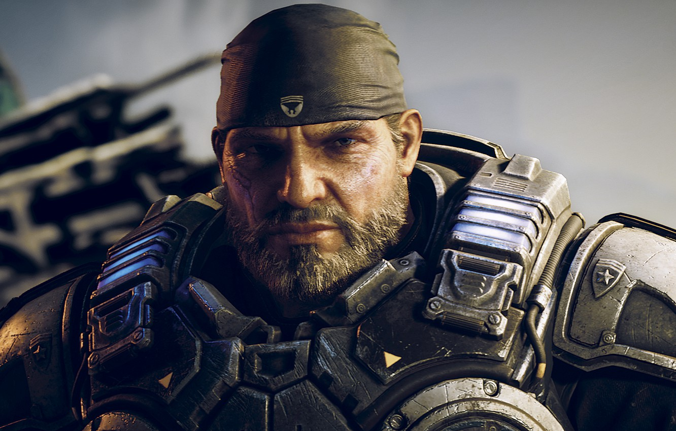 Wallpaper Gears Of War Marcus Fenix Marcus Fenix Gears Of