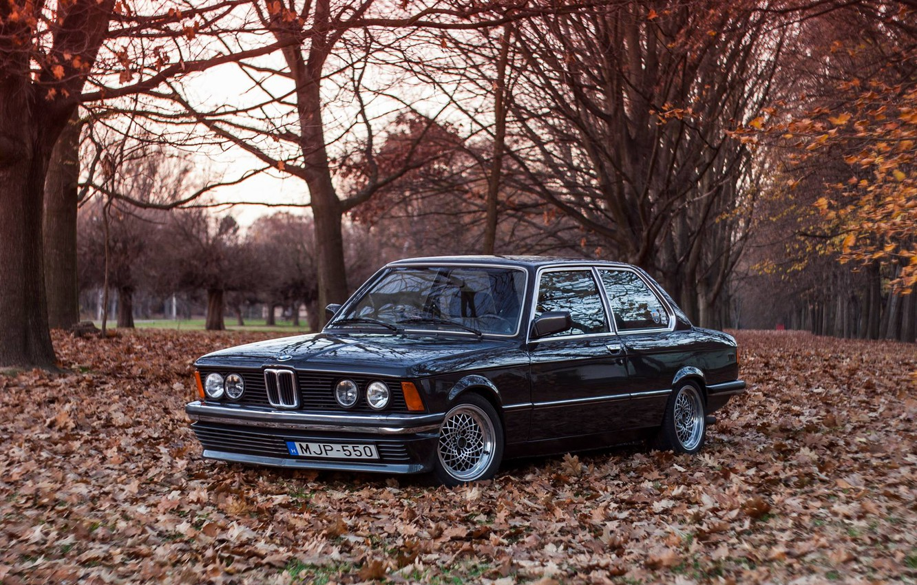 Photo wallpaper BMW, E21, 3-Series