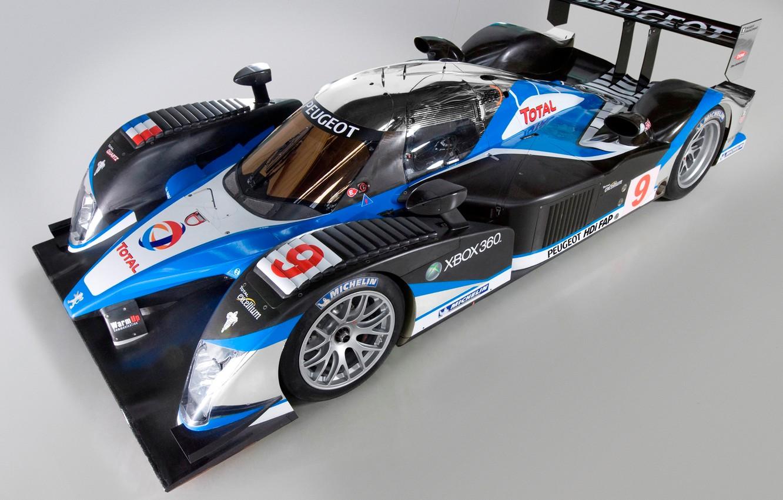 Photo wallpaper 2008, Wheel, Peugeot, Lights, Drives, LMP1, 24 Hours of Le Mans, 24 hours of Le …