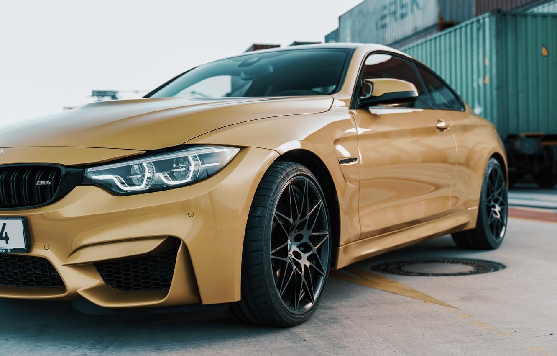 Photo wallpaper BMW, coupe, sportscar, sports car, bmw m4, spoke