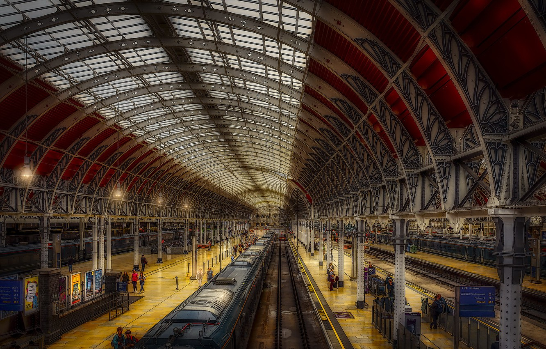 Wallpaper London Train Paddington Station Images For