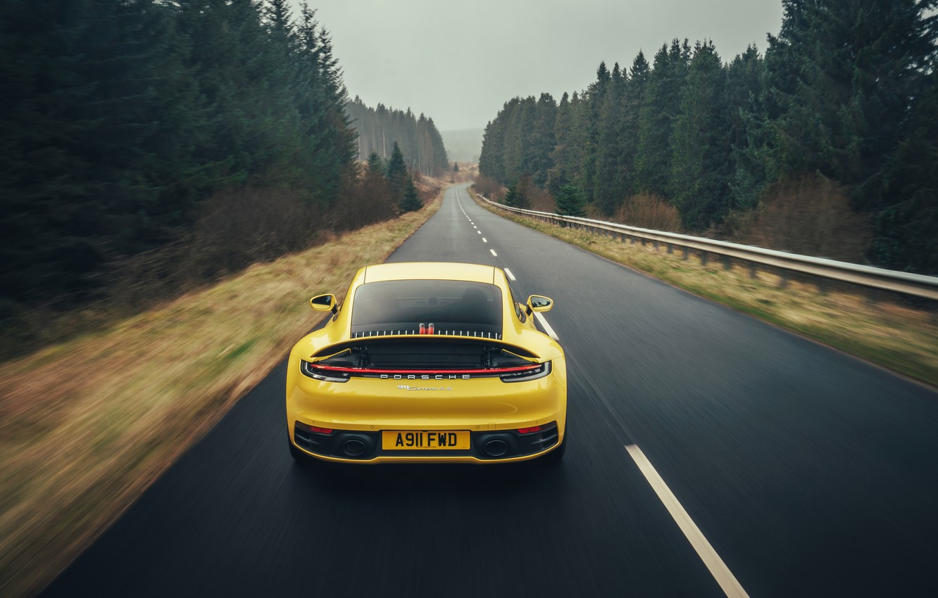 Photo wallpaper 911, Porsche, Carrera 4S, 2019