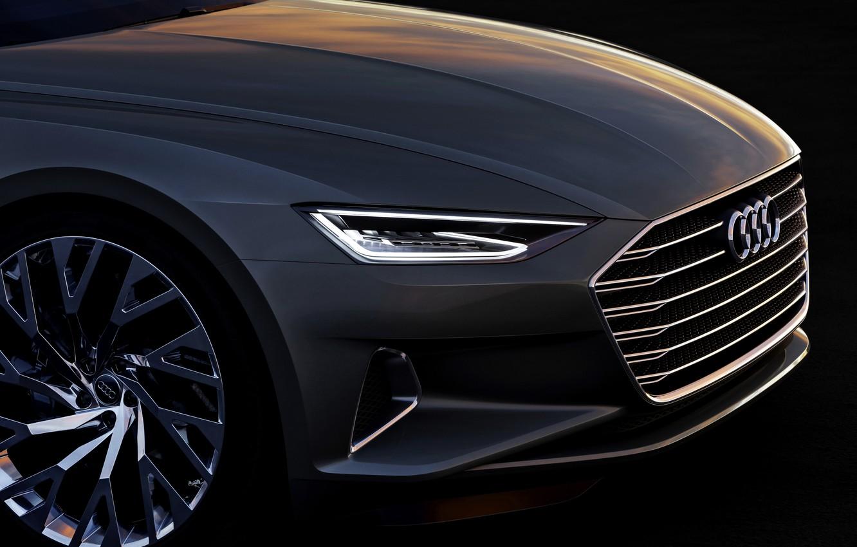 Photo wallpaper Concept, Audi, coupe, Coupe, the front part, 2014, Prologue