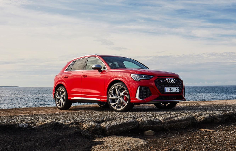 Photo wallpaper Audi, AU-spec, 2020, RS, Q3, CUV
