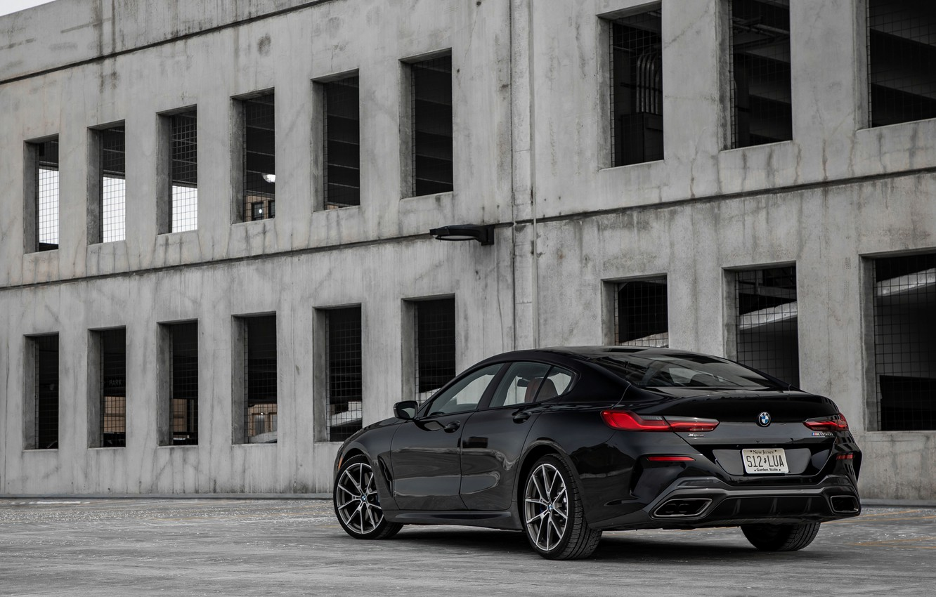 Photo wallpaper black, coupe, BMW, Gran Coupe, side, 2020, 8-Series, 2019, the four-door coupe, M850i xDrive, Eight, …