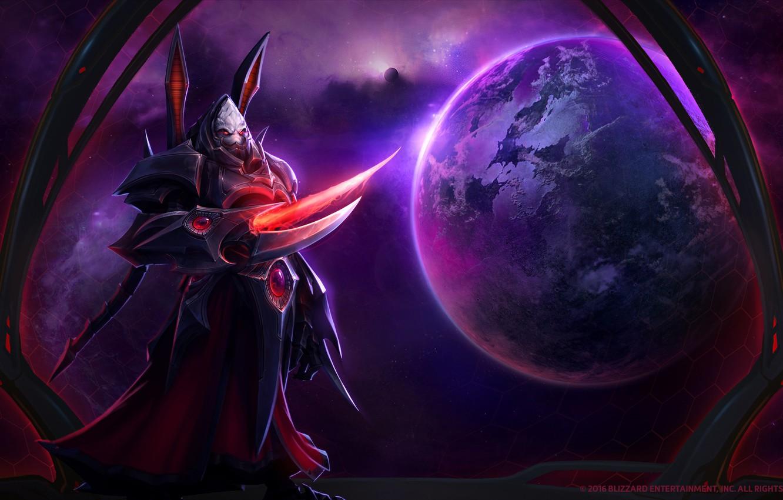 Wallpaper Blizzard, Protoss, StarCraft 2, StarCraft, Zerg