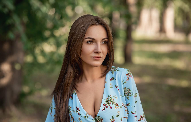 Photo wallpaper model, pretty, A Diakov George