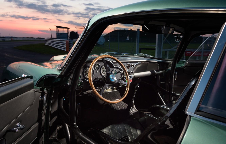 Photo wallpaper Aston Martin, Salon, Classic, The wheel, 2018, Classic car, 1958, DB4, Sports car, Aston Martin …