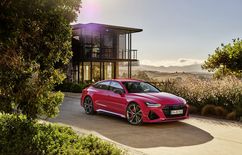 Photo wallpaper Audi, Sportback, RS 7, RS7, 2020
