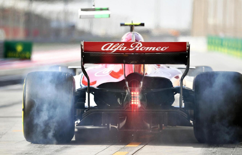 Photo wallpaper Formula 1, Racing, racing car, Clean, C37