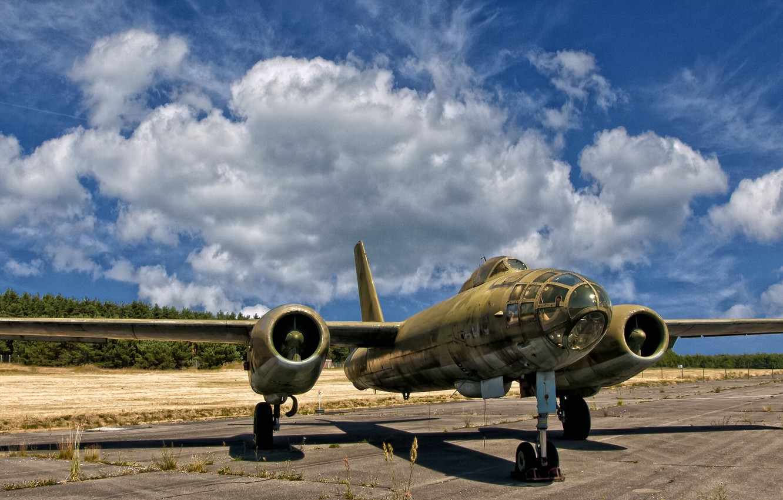 Photo wallpaper the plane, jet, bomber, Ilyushin, Il-28