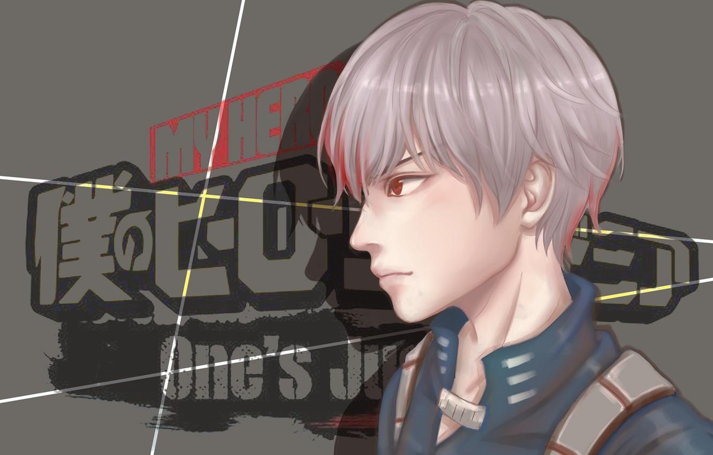 Photo wallpaper My Hero Academia, Boku No Hero Academy, Todoroki Shoto, My Hero Academy