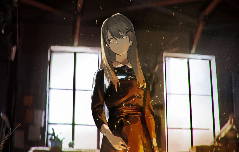Photo wallpaper girl, is, EN-Suite