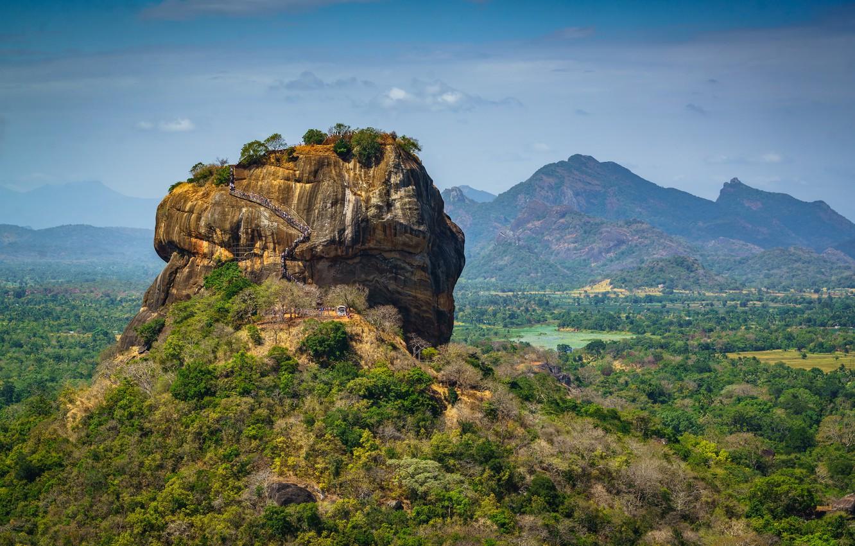 Photo wallpaper Sri Lanka, Sigiriya, Pidurangala, Matale District