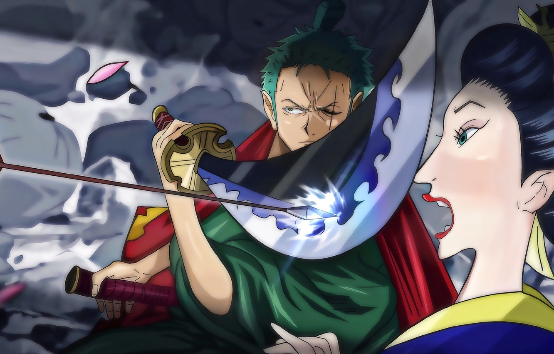 One Piece, pirate, war, anime, katana