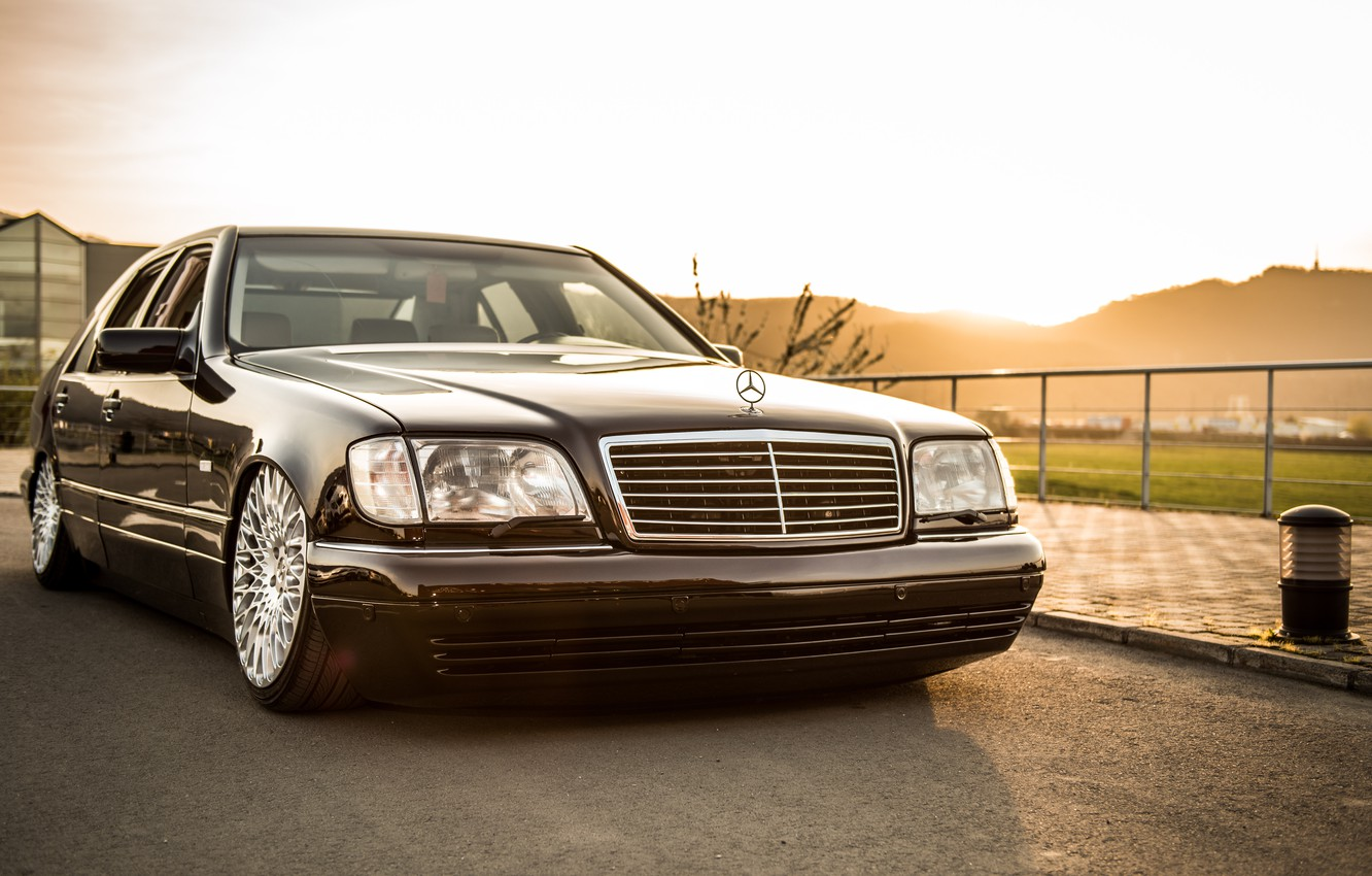 Photo wallpaper Mercedes - Benz, VIP, W140, S500