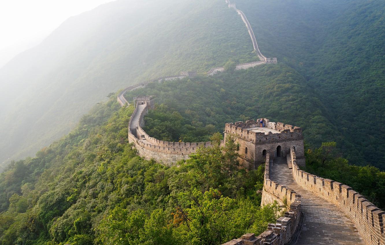 Photo wallpaper landscape, Beijing, Mutianyu Great Wall
