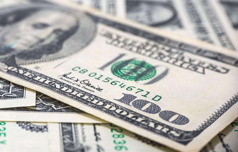 Photo wallpaper money, dollars, currency, bill
