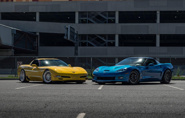Photo wallpaper Z06, Corvette, Chevrolet, ZR1