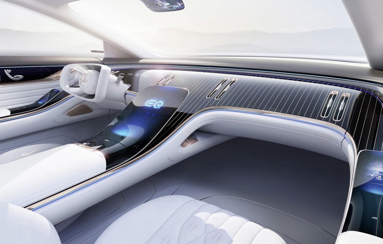 Photo wallpaper Mercedes-Benz, Mercedes, Benz, Vision, Vision EQS, Mercedes-Benz Vision EQS, EQS
