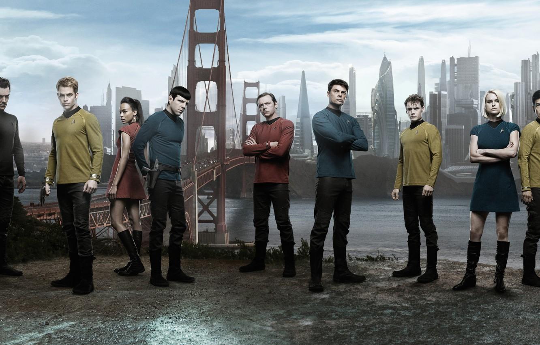 Wallpaper Ruins Star Trek Characters Star Trek Into Darkness