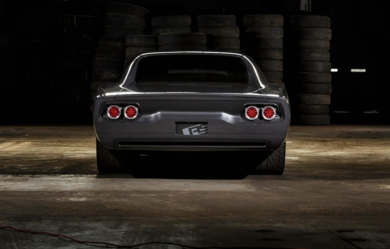 Photo wallpaper Muscle, Dodge Charger, Custom, Vehicle, Modified, RS