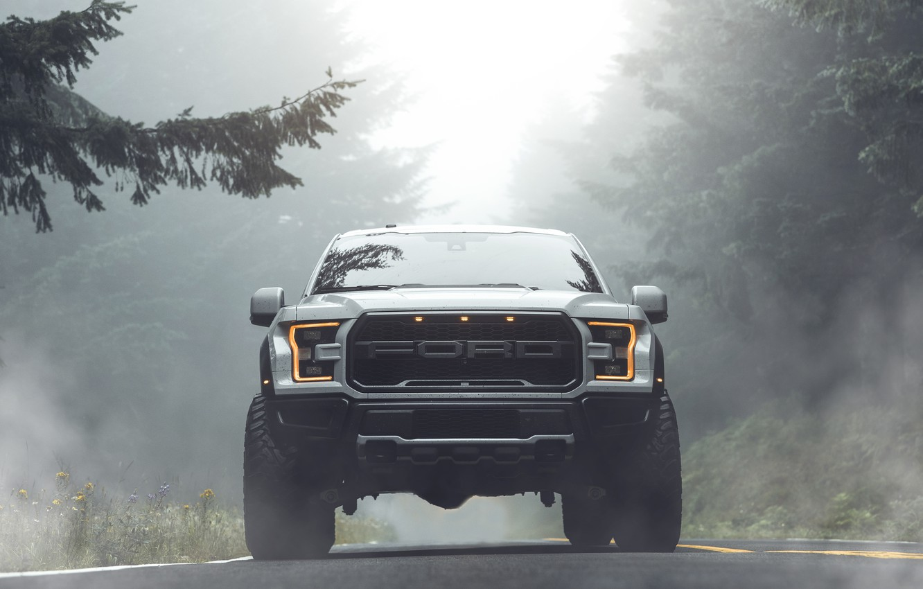 Photo wallpaper Ford, Raptor, pickup, F-150, 2019, by Aaron Brimhall