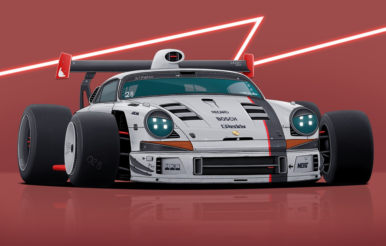 Photo wallpaper Porsche, Wheel, Monster, Auto, Style, Tuning, Tires, Wheels, Tires, DizePro, Dmitry Strukov, by Dmitry Strukov