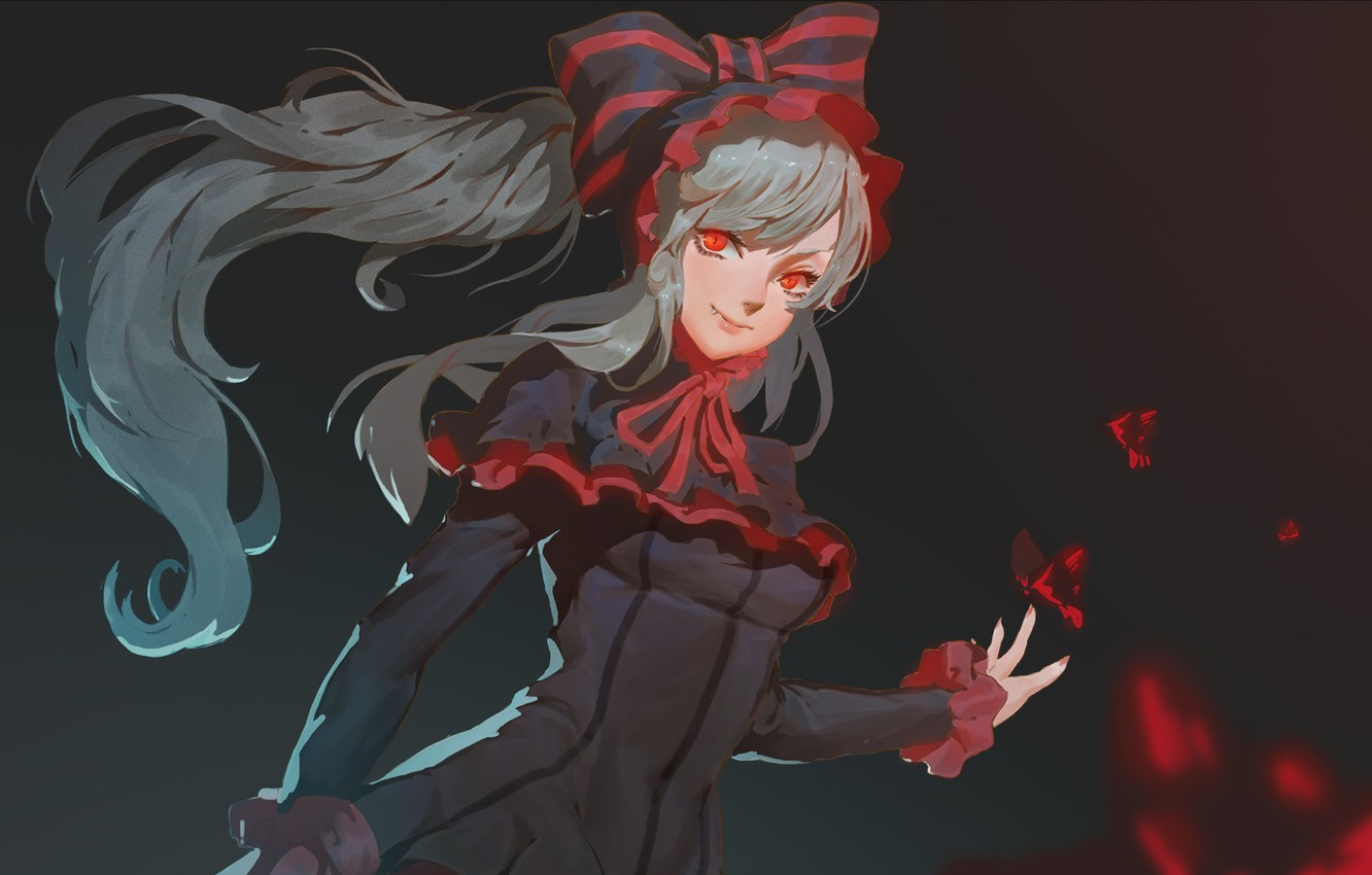 Photo wallpaper girl, vampire, Overlord, The Lord