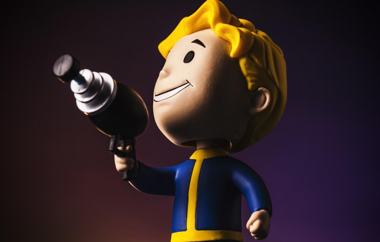 Photo wallpaper Fallout, Bethesda Softworks, Bethesda, Figure, Bethesda Game Studios, Vault Boy, Vault Boy, Bethesda, Vault-Boy, Boltyboy, …