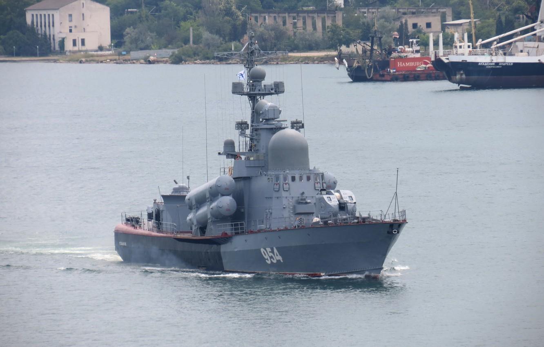 Photo wallpaper large, boat, rocket, Ivanovets