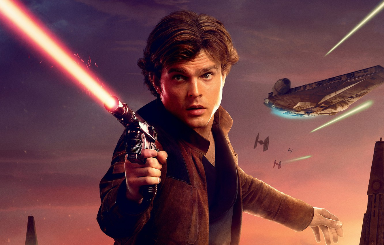 Wallpaper Star Wars Lightsaber Spaceship Han Solo Han Solo