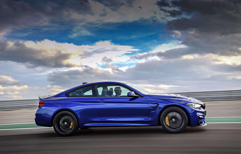 Photo wallpaper machine, coupe, sports, drives, wheel, BMW M4 CS