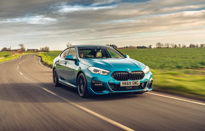 Photo wallpaper BMW, BMW 218i, 2020, BMW 218i Grand Coupe