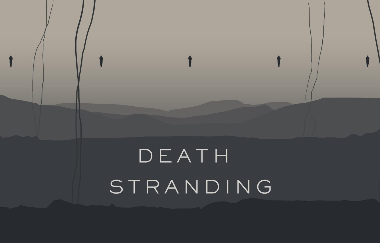 Wallpaper Kojima Productions Hideo Kojima Death Stranding