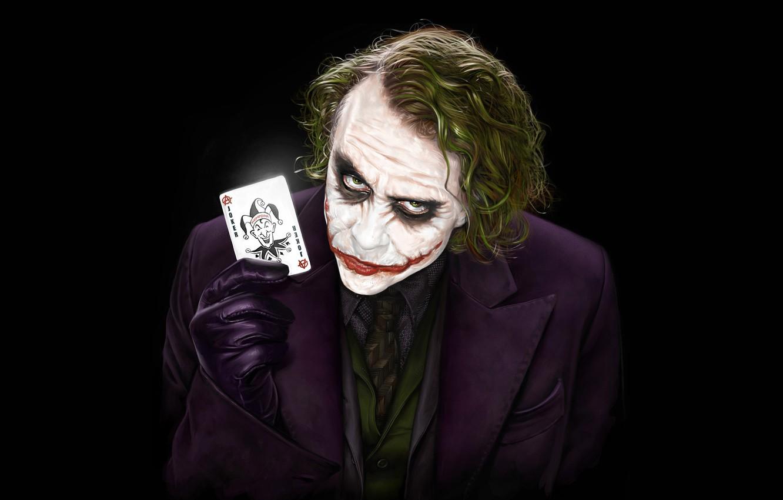 Photo wallpaper Joker, Batman, JOKER