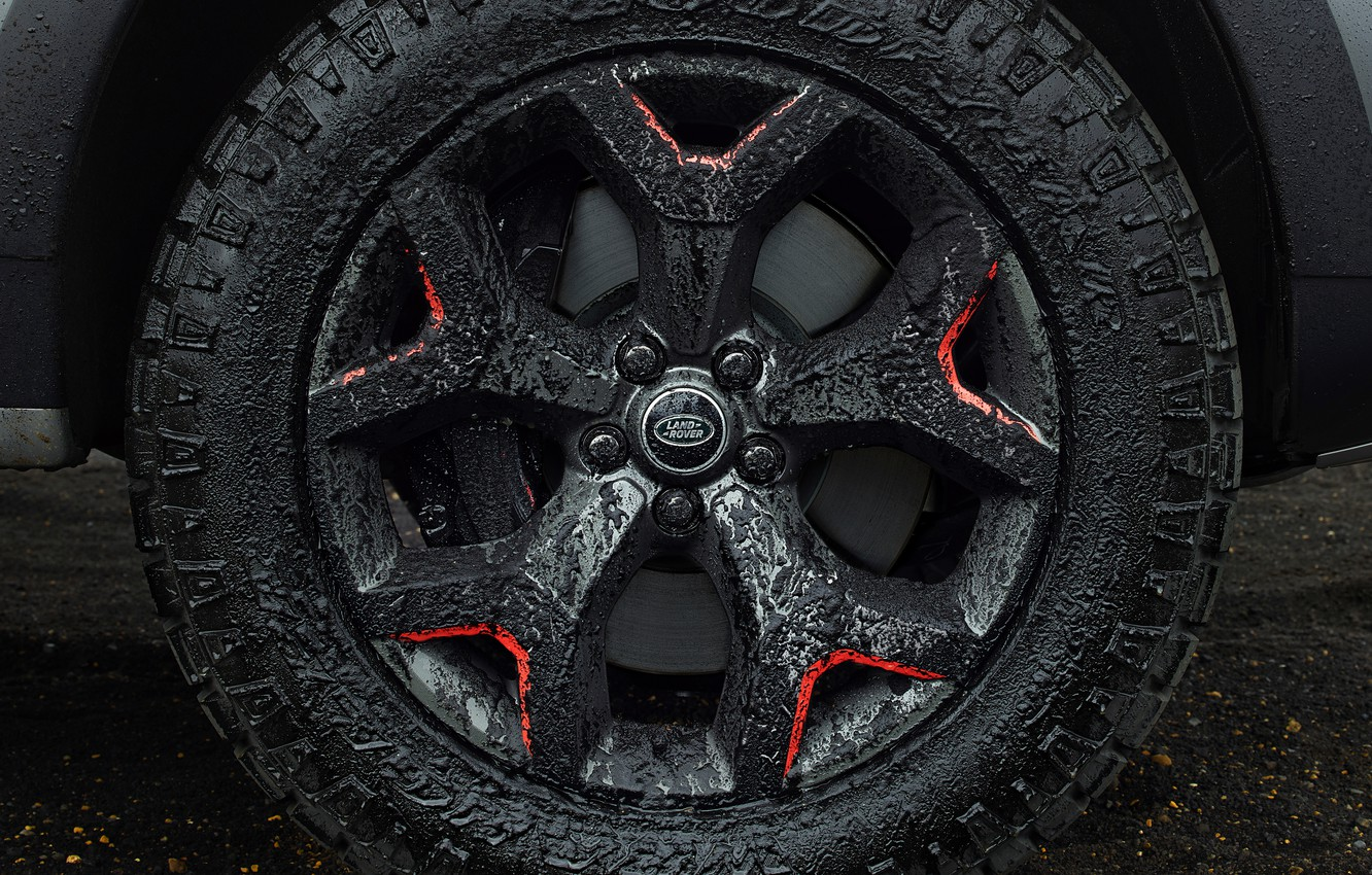 Photo wallpaper wheel, Land Rover, Discovery, 4x4, 2017, V8, SVX, 525 HP, 5 L.