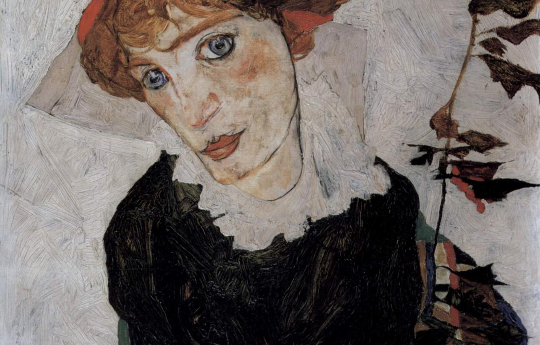 Photo wallpaper Portrait, 1912, Egon Schiele, Valerie Neuzil