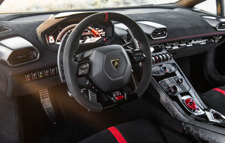 Photo wallpaper Lamborghini, salon, Performante, Huracan, 2020, VF Engineering