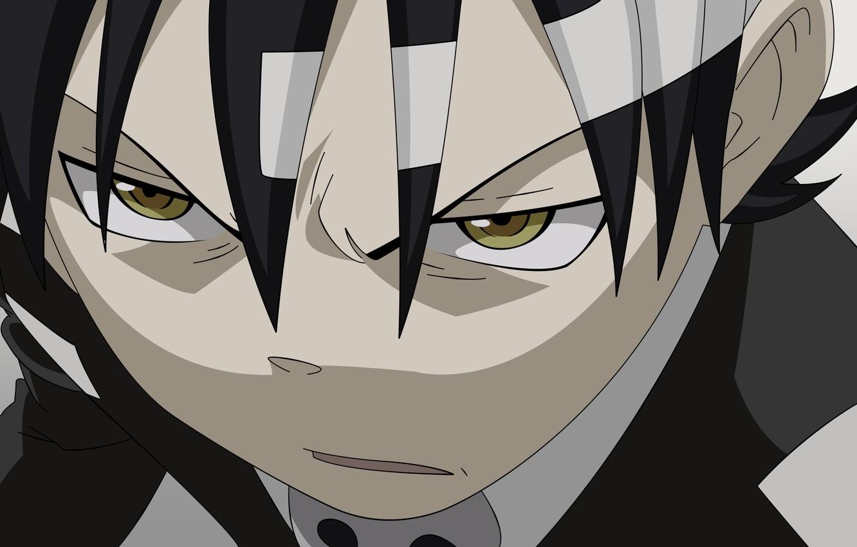 Wallpaper Look Anime Guy Soul Eater Soul Eater Death The Kid